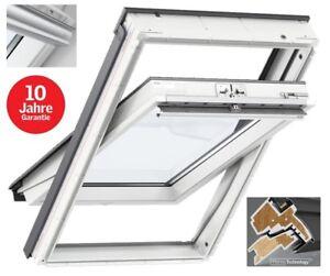 top original velux dachfenster kunststoff thermo mit eindeckrahmen ggu glu ebay. Black Bedroom Furniture Sets. Home Design Ideas