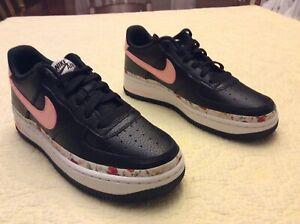 Details about Nike Air Force 1 Vintage Floral GS Pink Tint Sz 5.5 BQ2501-001