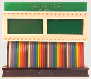 TWGS CPU Cable from ReActiveMicro.com Apple IIgs Transwarp GS