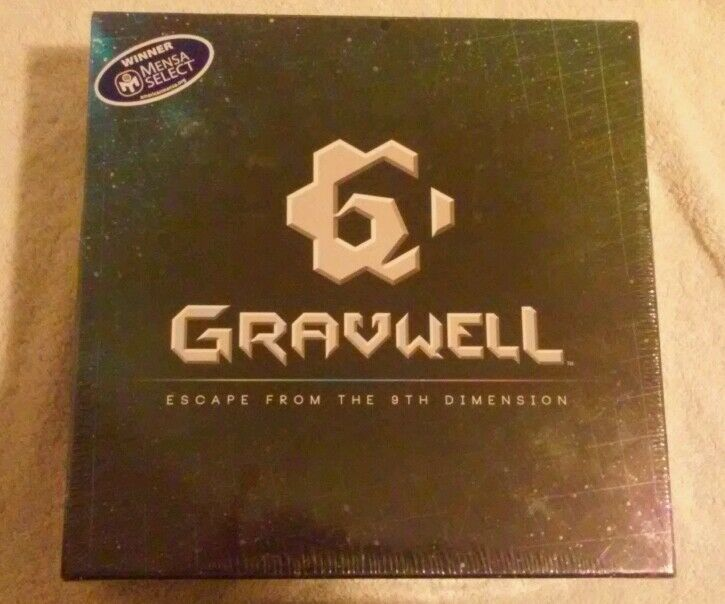 Gravwell  Escape  from the 9th Dimension Cryptozoic Entertainment board game