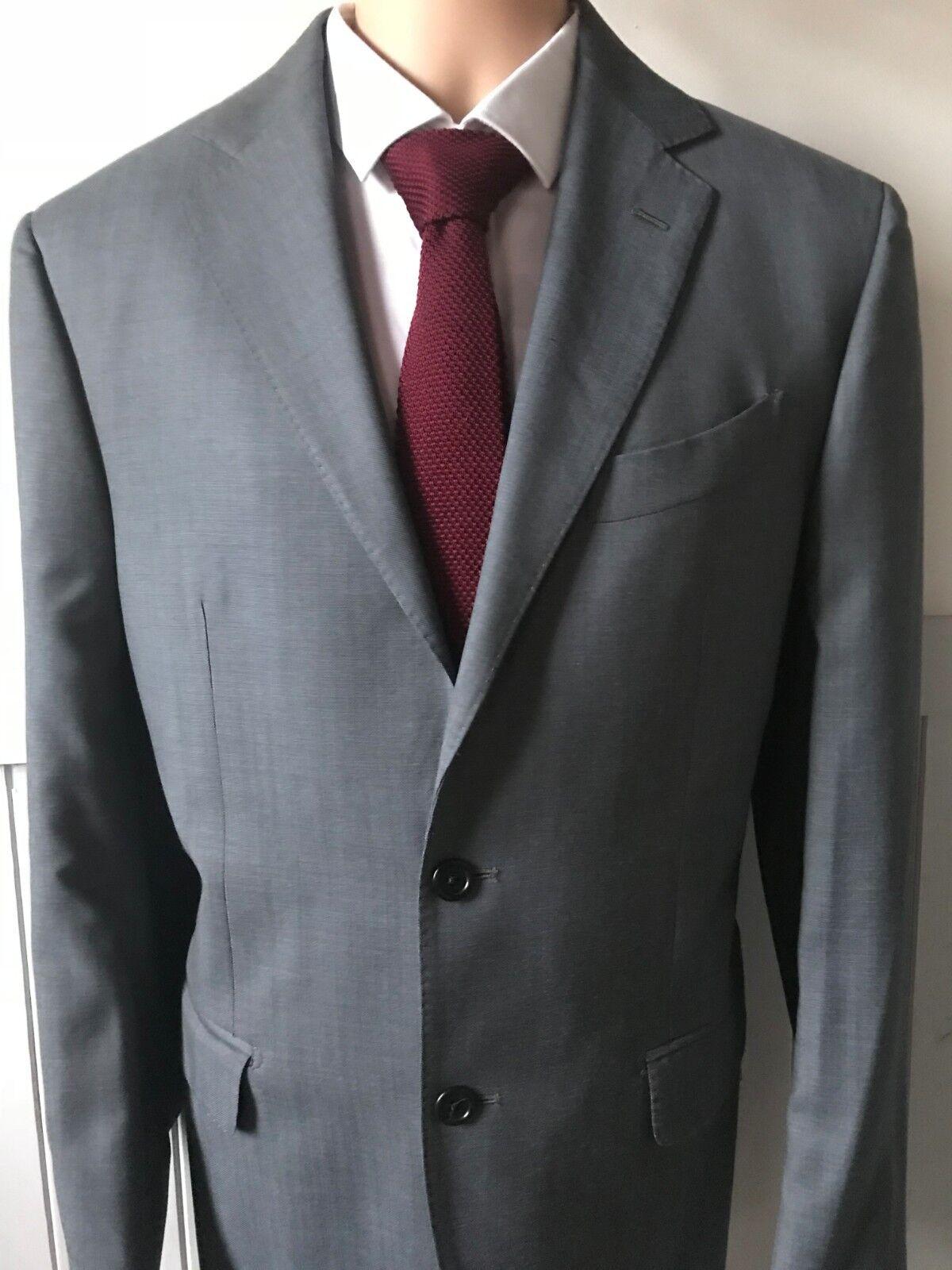 Versace V1969  Herren suit light Blau Grau slim fit IT52 42c 34w VGC