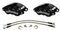 68 69 70 Chevy C10 Truck Wilwood Black D52 Aluminum Calipers
