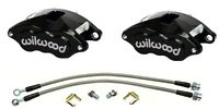 68 69 70 Chevy C10 Truck Wilwood Black D52 Aluminum Calipers