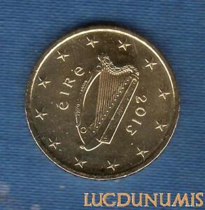 Irlande 2013 50 Centimes d'Euro SUP SPL Pièce neuve de rouleau - Eire