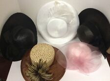 5 pc vintage hat lot - ladies womens church hats - (13)