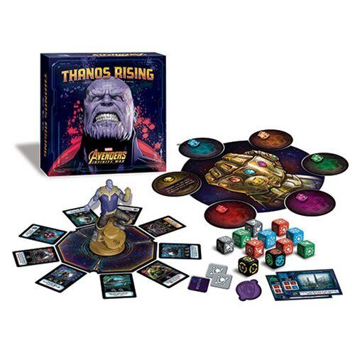 USAopoly NEW  Avengers   Infinity War Thanos Rising  Game Dice Card Marvel