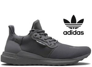 Adidas-Pharrell-x-Adidas-solaire-Hu-PRD-Glide-Hommes-Taille-UK-8-5-EUR-42-5-Gris