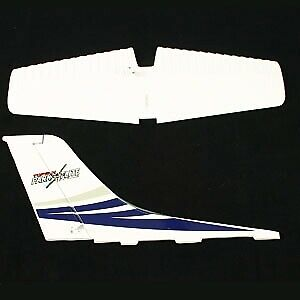 TGP0361B bleu Top Gun Park Flite Cessna 182 Skylane Queue Aile