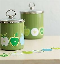 WALLIES GREEN APPLES wall stickers 24 self stick decal fruit decor Granny Smith