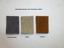 Mercedes-Benz  W111 / W112  220SE 250SE,300SE 280SE Wool Carpet Kit 1961-71