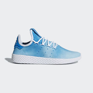 Details about NEW ADIDAS YOUTH PHARRELL WILLIAMS PW TENNIS HU SHOES  [CQ2300] BR BLUE//WHITE