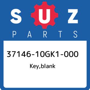37146-10GK1-000-Suzuki-Key-blank-3714610GK1000-New-Genuine-OEM-Part