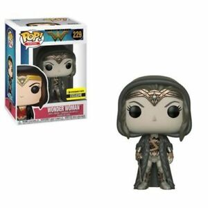Wonder Woman Fall Convention Exclusive 2018 Pop 10cm 0889698352222 IAM Wonder Woman Figurine Dc Comics Funko