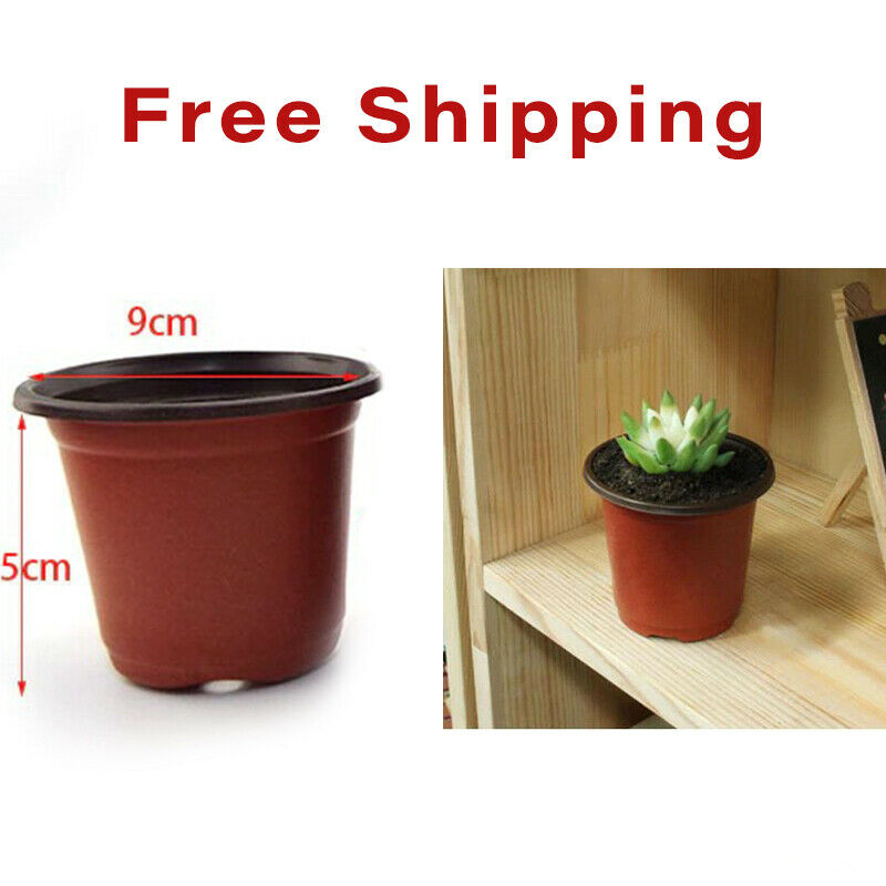 Plant Flower Pot 20 Pots Plastic Grow Box Fall Resistant Nursery Garden Seedling
