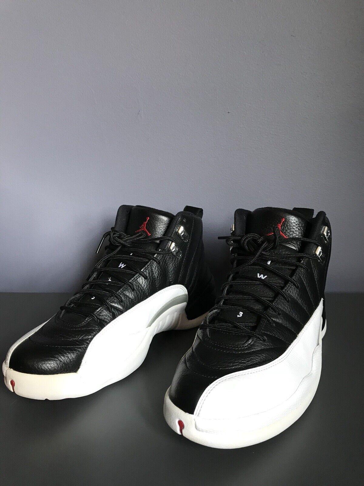 Jordan 12 XII Nike Air Playoff liberación Varsity Rojo