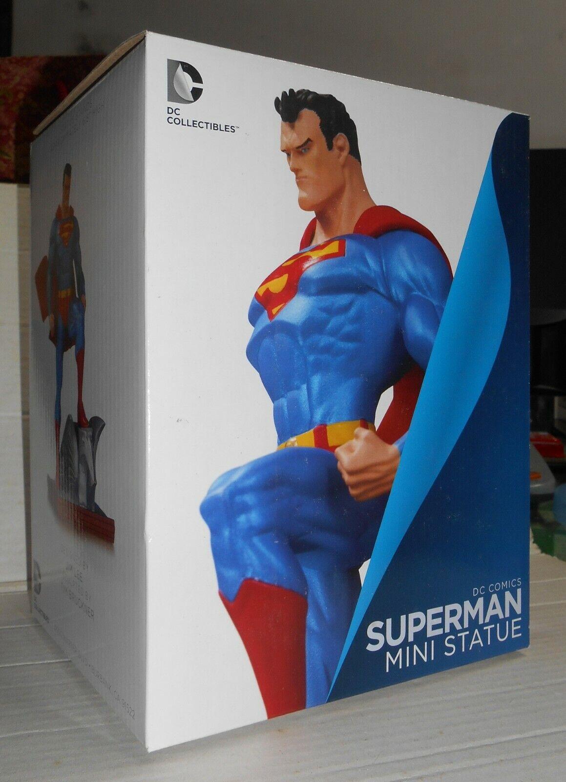 DC Comics Superman Jim Lee mini statue new edition NEW