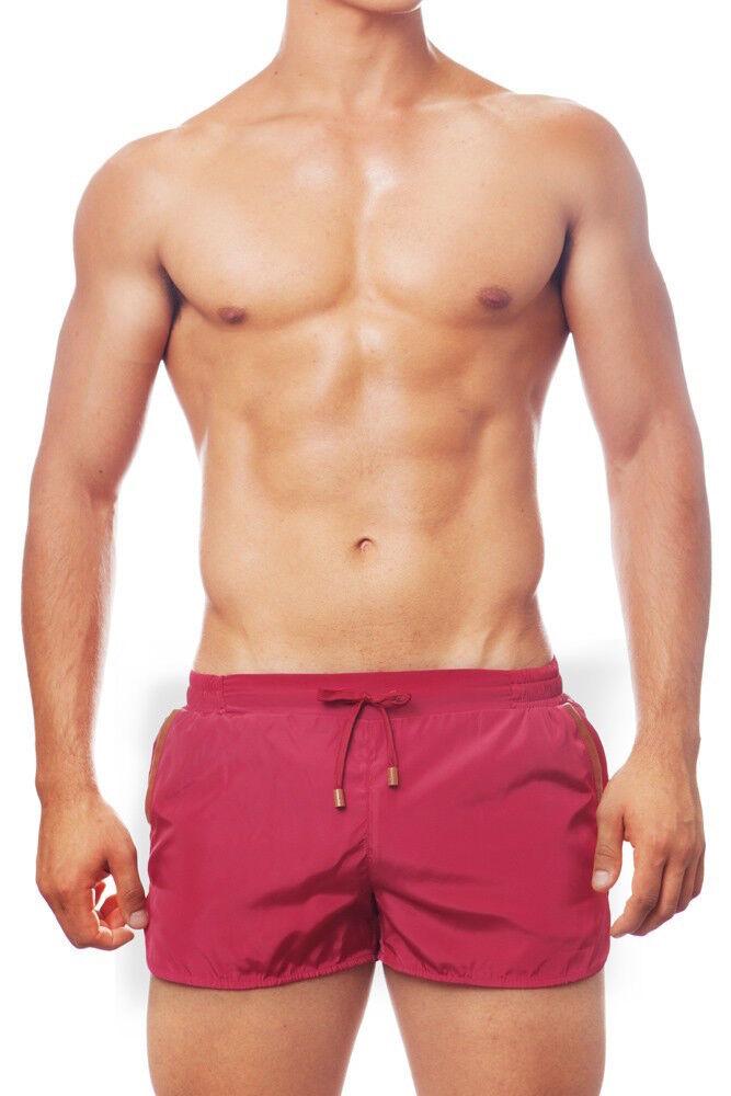 2eros Sydney Swim Shorts - Maroon