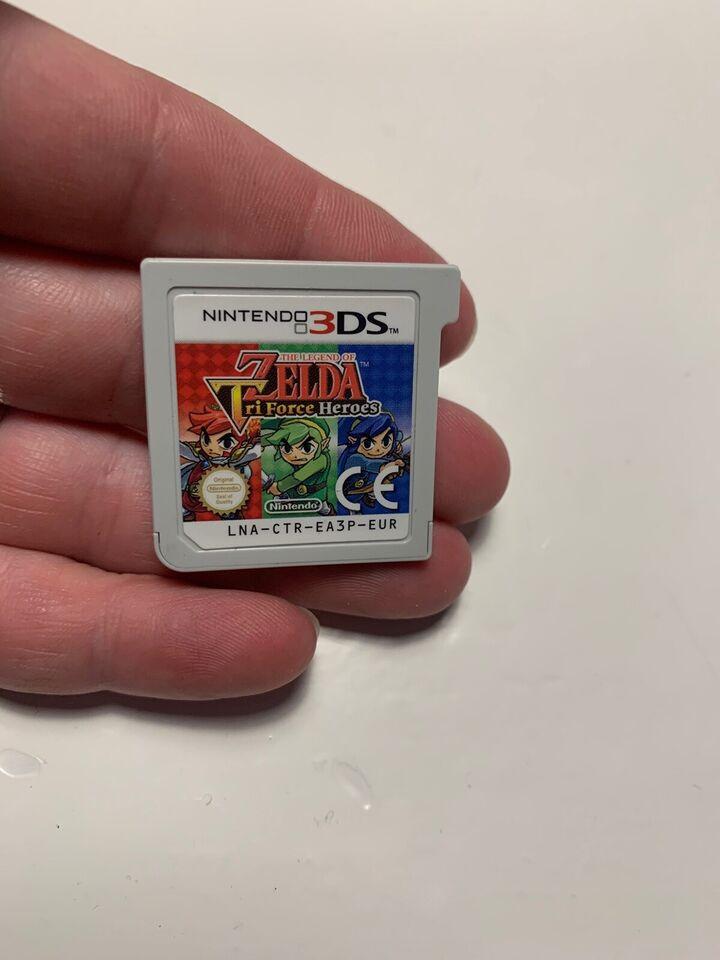 The legend of Zelda - tri Force heroes, Nintendo 3DS,
