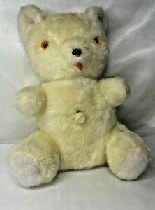 1975-Rock-A-Bye-Teddy-Bear-Rushton-With-Heartbeat-Sounds-Vintage