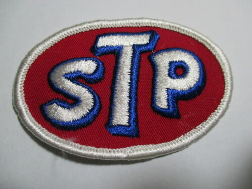 Racing environ 5.08 cm brodé nos original STP Vintage Patch 3 1//4 x 2 in