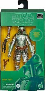 Star Wars Black Series CARBONIZED METALLIC Boba Fett 40th Anniversary PRE-ORDER