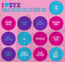 Img del prodotto Cd Zyx Italo Disco The 7 Inch Collection Von Various Artists 2cds Mit Chip Chip