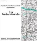 KDR 100 KK Rosenberg in Westpreussen (2000, Mappe)