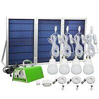 [30w Panel Foldable] Hkyh Solar Panel Lighting Kit, Solar Home Dc System Kit, Us