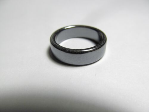 SUPERBE magnétite plat 4.7 To 5.7 mm Bande Bague Diverses Tailles MGTR 3 W