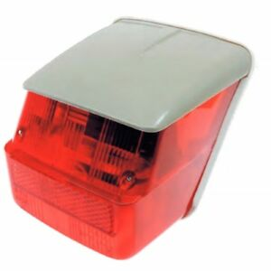 Katzenauge chromrand british Pattern Lucas red reflector chromebezel BSA Norton