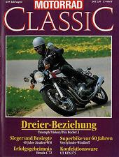Motorrad Classic 4/89 1989 Windhoff Benelli Leoncino 125 Honda Dream C72 UT KTN