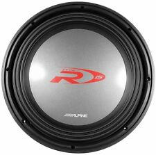 "Alpine SWR-1522D 15"" 2000 Watt DVC 2 Ohm Competition Car Audio Subwoofer Sub"