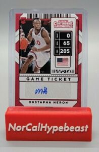 2020 Panini Contenders Draft Picks Basketball Mustapha Heron Game Ticket #111