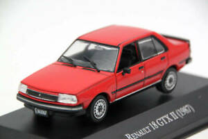 Altaya-1-43-IXO-Renault-18-GTX-II-1987-Diecast-Toys-Car-Models-Collection
