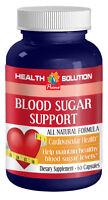 Blood Sugar Support - Health Heart Supplement - 1 Bottle