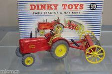 DINKY TOYS GIFT SET MODEL No.310 MASSEY HARRIS TRACTOR & HAY RAKE  VN MIB