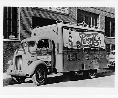 Factory Photo 1941 Ford Bottlers Rack Truck Ref. # 43361 Pepsi-Cola