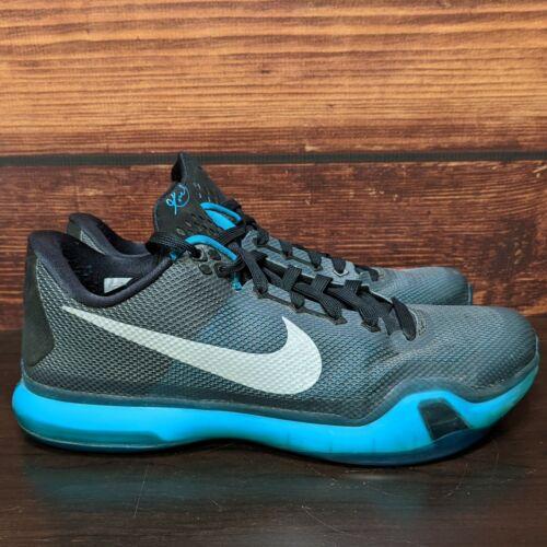 "Nike Kobe 10 X Bryant ""Liberty"" black emerald silv"