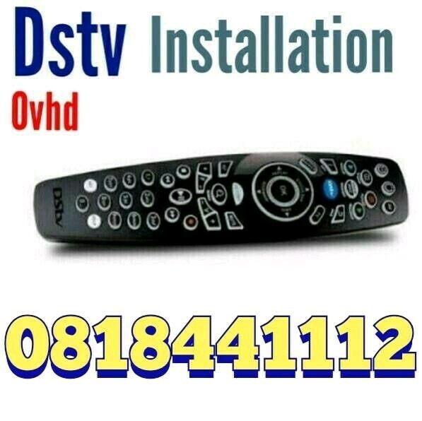 Approved Techinician For D-stv, Ovhd, CCtv lnstallation and Repairs