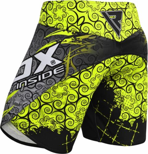 RDX MMA Fighting Shorts Boxing Trunk Gym Muay Thai Cage Mixed Martial Arts U