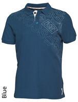 Crosshatch Polo Pique T-shirt New Men's Jersey Shirt Red Blue Orange Grey Green