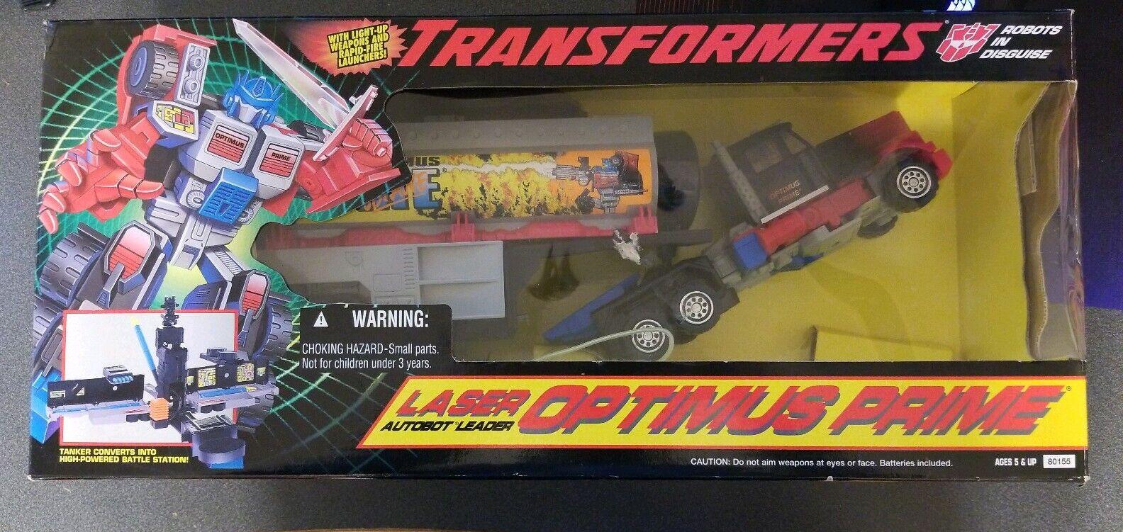 1995 Hasbro Laser Autobot Leader Optimus Prime