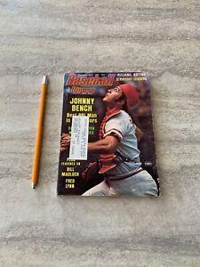Baseball-Digest-Magazine-September-1975-Johnny-Bench