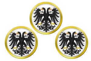 Imperial-Deux-a-Tete-Aigle-Marqueurs-de-Balles-de-Golf
