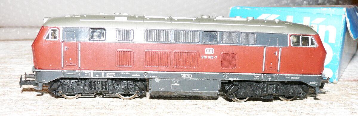 K23 Märklin 3075 diesellok br 216 025-7 DB