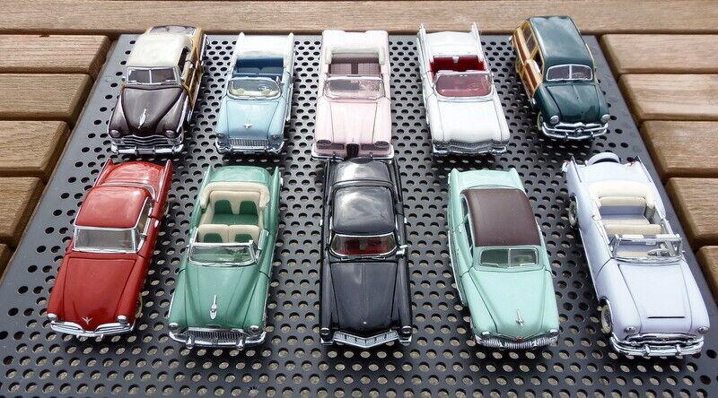10 x FRANKLIN MINT CARS 1 43    1987