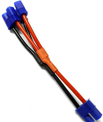C8014 EC3 Compatible Battery Harness Cable Series Adapter 10cm 14 AWG
