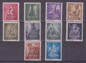 EDIFIL-1132-41-NUEVOS-SIN-FIJASELLOS-ANO-1954-ESPANA
