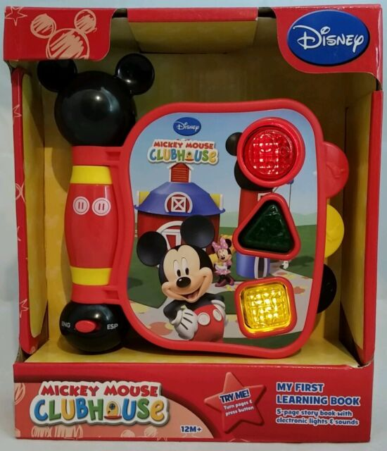 Mickey Mouse Clubhouse My First Learning Book Musical Toy ...