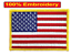 AMERICAN-FLAG-EMBROIDERED-PATCH-iron-on-GOLD-BORDER-USA-US-United-States thumbnail 3
